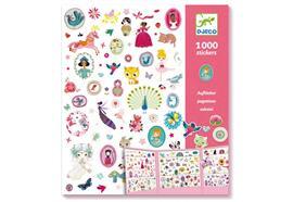 1000 Sticker für Mädchen