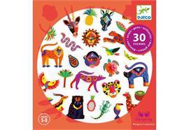 30 Sticker Exotico