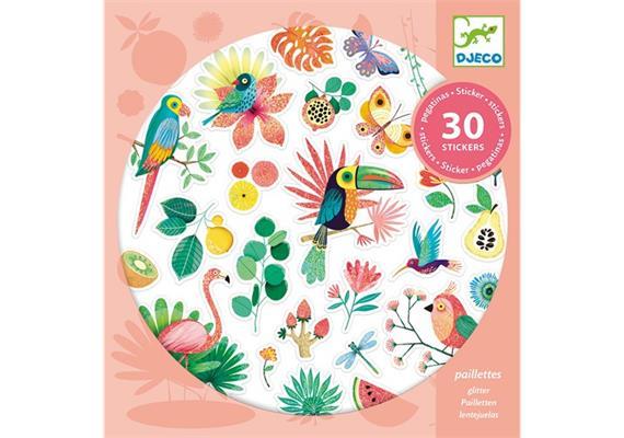 30 Sticker Paradies