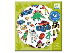 30 Sticker Retro toys