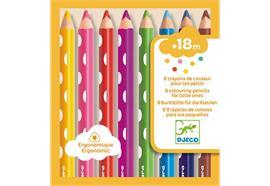 8 Farbstifte für die Kleinen