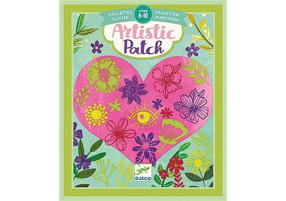 Artistic patch Blütenblätter