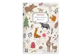 Ausschneidebuch Waldtiere
