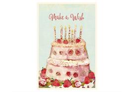 Birthday cake, Single Card