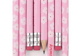 Bleistift Blümchen Rosa