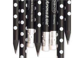 Bleistift Punkte Schwarz
