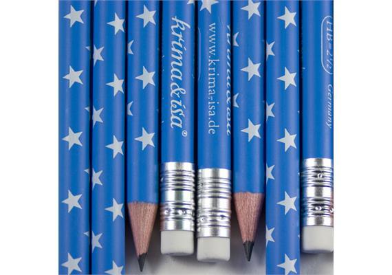 Bleistift Sterne Blau