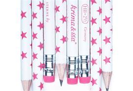 Bleistift Sterne Pink