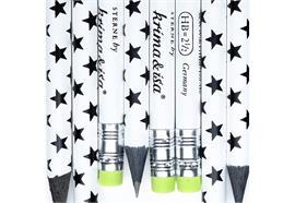 Bleistift Sterne Schwarz