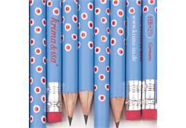 Bleistift Tupfer Blau