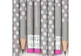 Bleistift Tupfer Grau