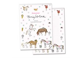 Briefblock Pony A4