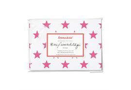 Briefumschläge Sterne Pink 10 Stk