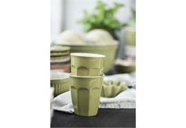 Cafe Latte Becher Mynte Herbal Green