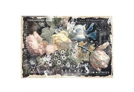 "Decoupage decor tissue paper ""bridgette"""