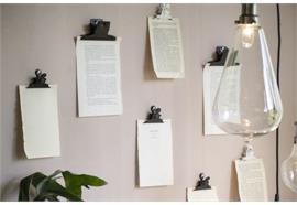 Dokumentenklammer mit Magnet