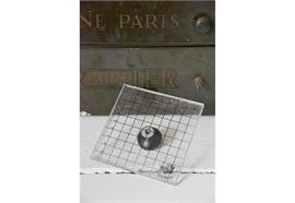 Druckplattenstempel mit Griff - 10 x 10 cm