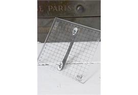 Druckplattenstempel mit Griff - 15 x 15 cm