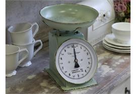 Französiche Küchenwaage antique mint
