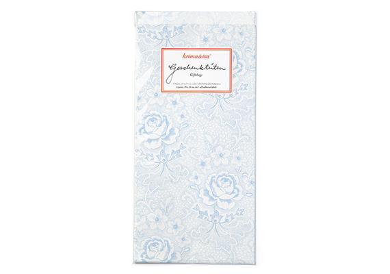 Geschenktüten Rosen Blau