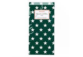 Geschenktüten Sterne Dunkelgrün