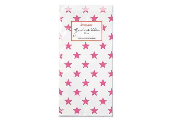 Geschenktüten Sterne Pink
