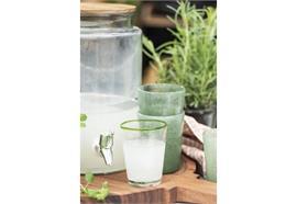 Getränkebehälter mit Holzdeckel 6 ltr