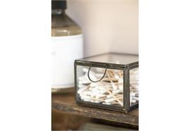 Glasbox mit Deckel