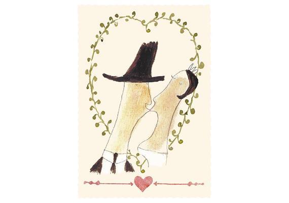 Glückwunschkarte Mon Amour
