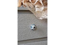 Griffe-Keramik/ Weiss-Blau