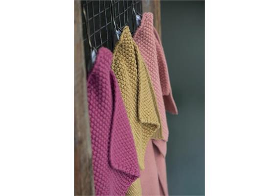 Handtuch Mynte Blackberry Parfait gestrickt