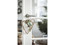 Herz zum hängen Holzperlen