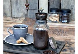 Kaffeemühle mit extra Deckel