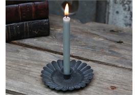 Kammerleuchter für Schmale hohe Kerze Schwarz