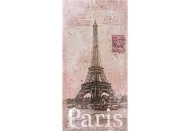 Karte, Paris 7x15cm
