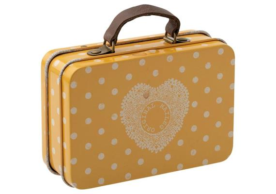 Koffer, Metall - Gelber Punkt