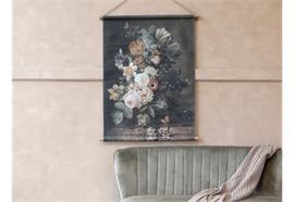 Leinwandbild zum aufhängen Blumendruck