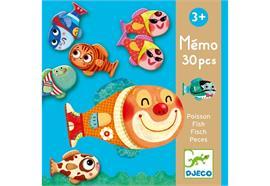 Lernspiel Memo Fisch Djeco