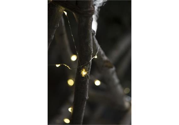 Lichterkette 20 LED-Lichter für draussen