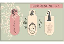 Magnetlesezeichen - Jane Austen