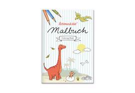 Malbuch Dinos