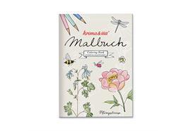 Malbuch Gartenliebelei