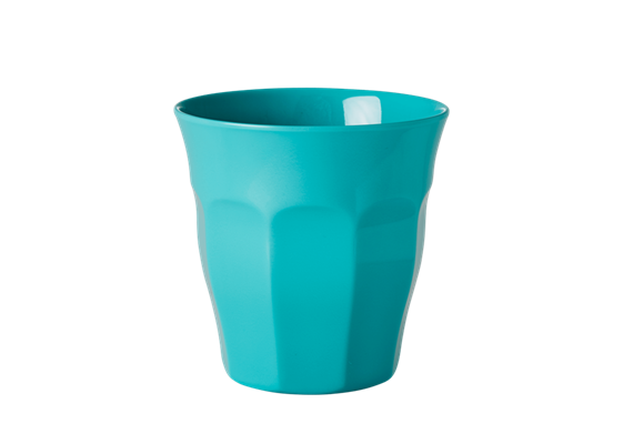 Medium Becher uni - Aqua