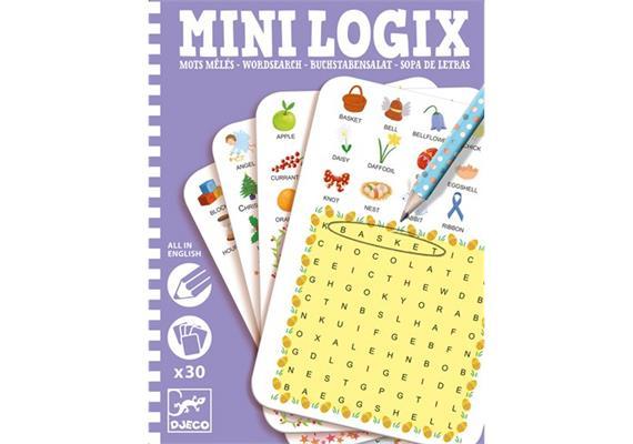 Mini Logix Englischer Buchstabensalat (mult)