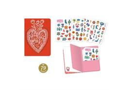 Notizbuch mit Stickers Aurelia