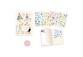 Notizbuch mit Stickers Tinou