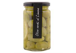 Oliven grün mit Zitrone