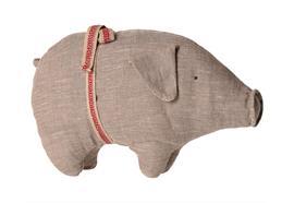 Pig, Small - Grey
