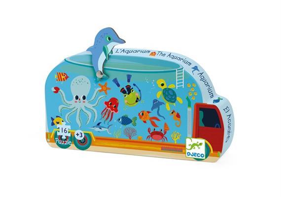Puzzle Aquarium 16 Teile Djeco