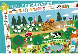 Puzzle Auf dem Bauernhof 35 Teile